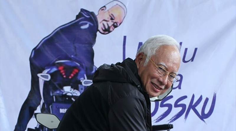 Najib Is UNSTOPPABLE