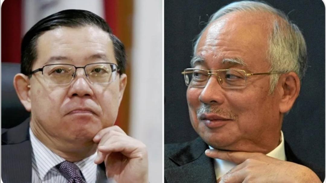 Najib sindir Guan Eng, Jadi saksi kes saya terhadap LHDN